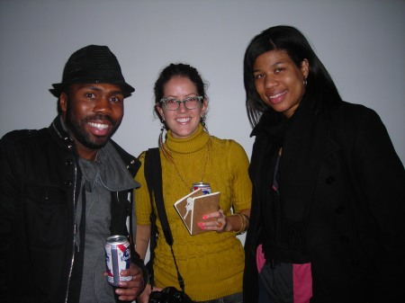 Was great to see Stephanie Land with her crew! Finally met Princess Hairston:)