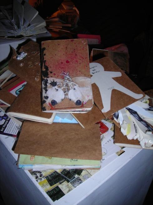 sketchbooks EVERYWHERE!!!