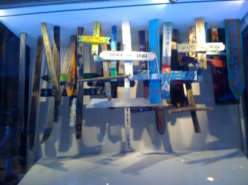 Dope window at LES tenement museum