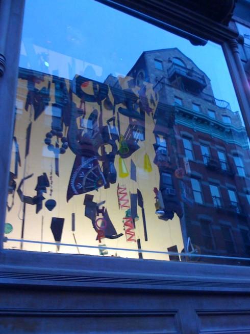 Tenement museum window