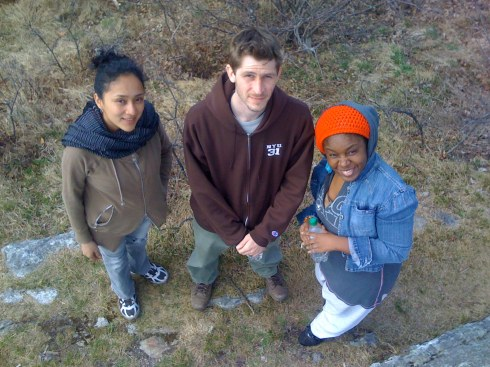 our crew for this trip- Monste, Marko and Shana