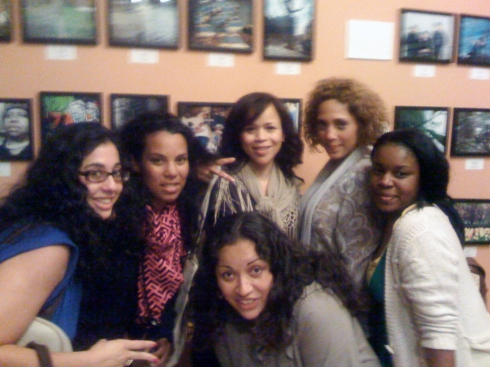 YOUNITY crew and Rosie Perez who is only down for a good cause:)