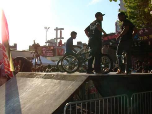 BMX n skaterz- pop upskate park- DOPE!