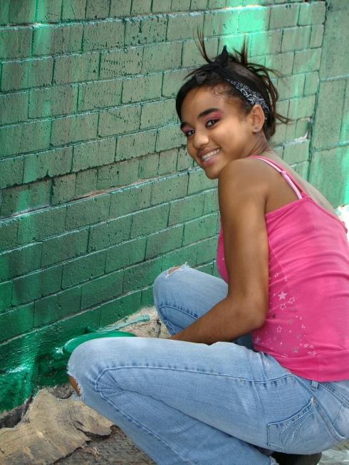 YOUNITY YOUTH- jerely preppingthe walls