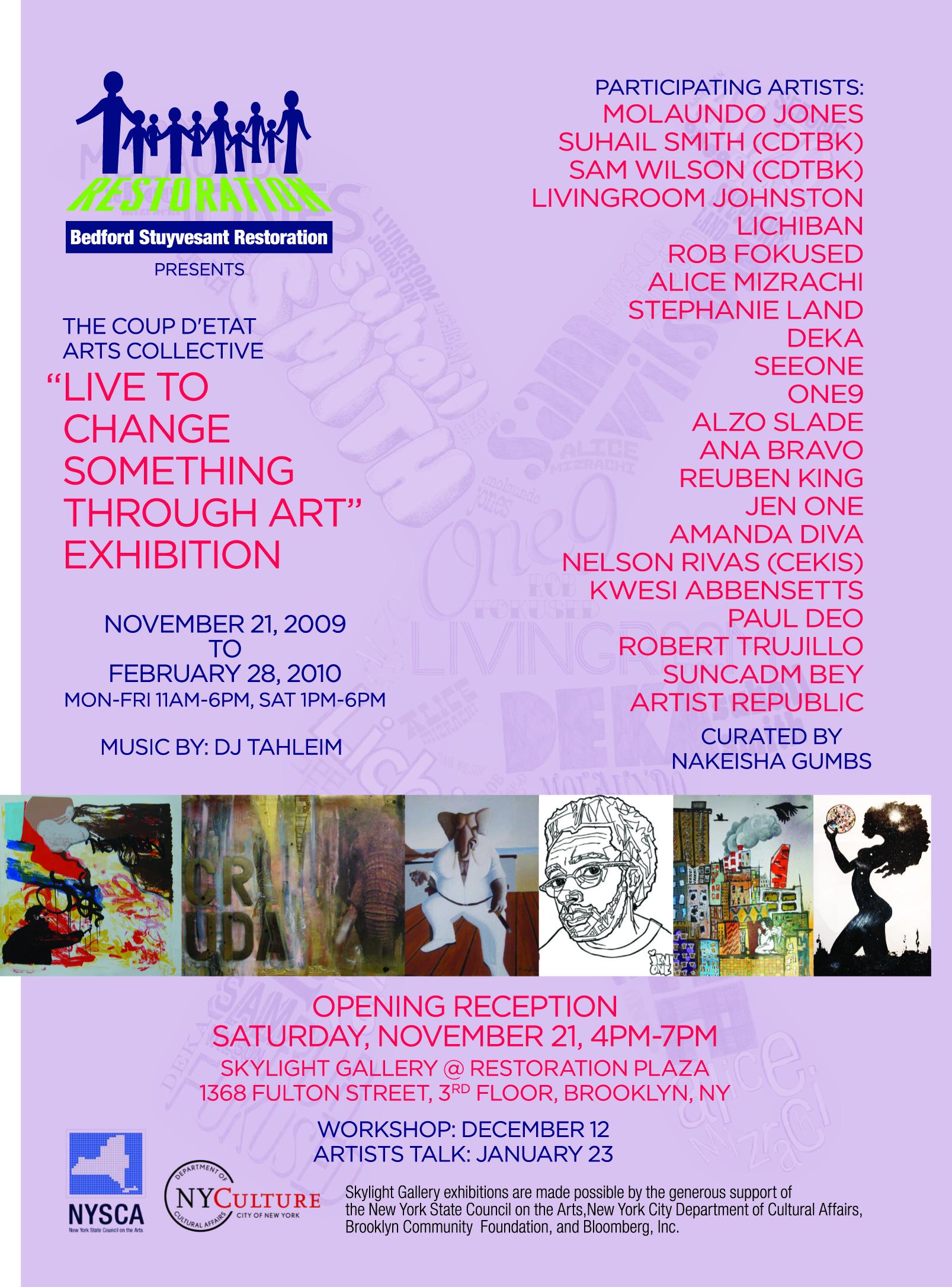 live to change something through art 11 21 09 alice mizrachi come