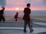 skaters n sunsets...