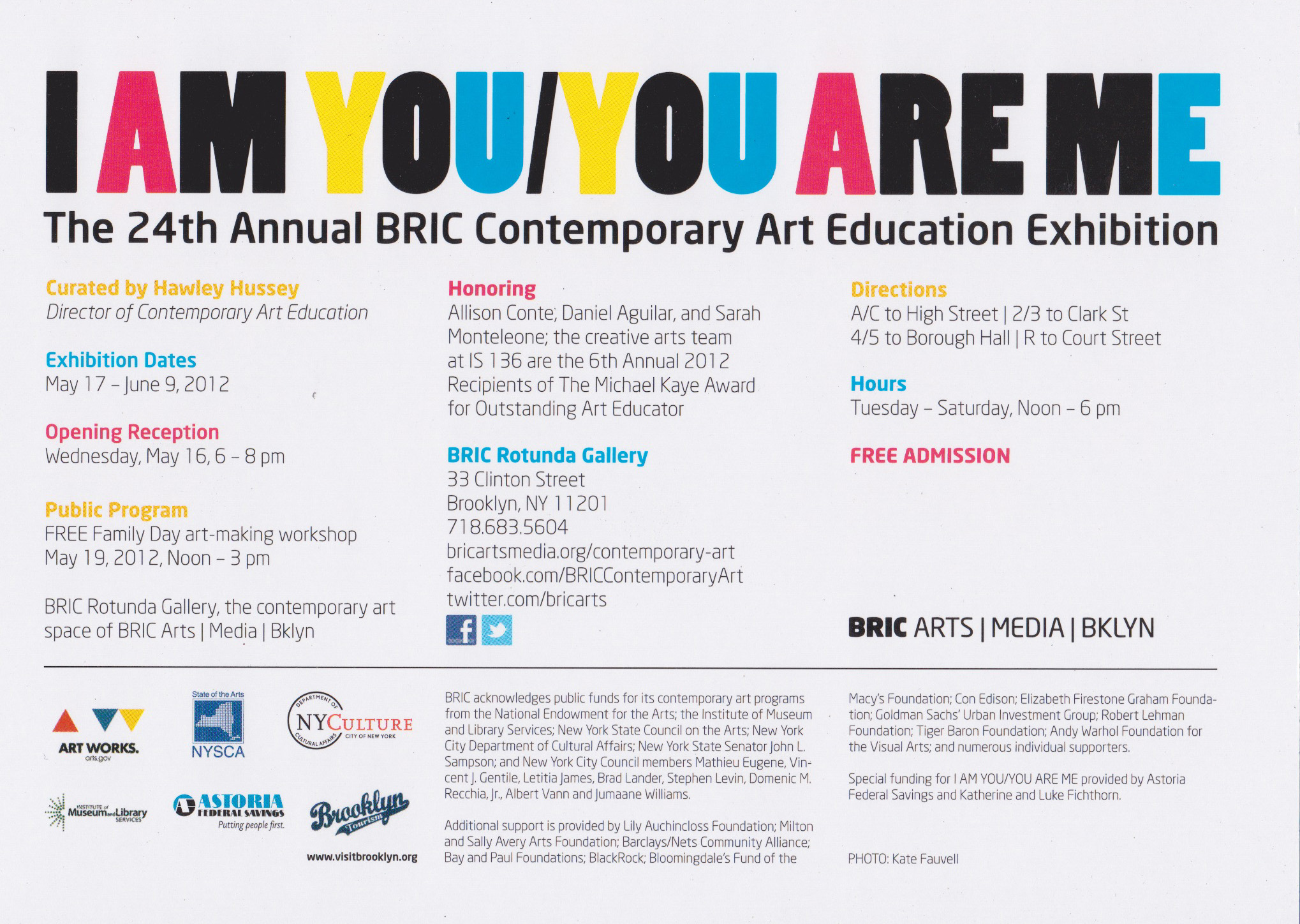 "I AM YOU, YOU ARE ME"" student exhibition at Rotunda Gallery ..."